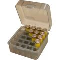 Бокс пластиковый универсальный для 12,16,20 к на 25 патронов Cabelas цвет дымчатый