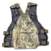 Полужилет разгрузочный на 37 патронов регулируемый с рюкзаком ( мембрана,трава) 12-к.