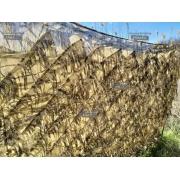 Сетка маскировочная сухой камыш 1,5 х 2м (Лапша)