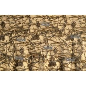 Ткань сетка сухой камыш